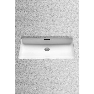 TOTO LT191G#11 Undercounter Lavatory 20-1/2 inch by 12-3/8 inch with Sanagloss, Colonial ()