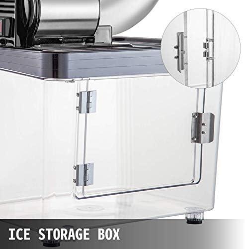 Electrodomésticos Herramientas de cocina Máquina de cono de nieve Comercial 180kg / H Máquina de bola de nieve Comercial 1450 r / Min Máquina de cono de nieve con aislamiento Caja de