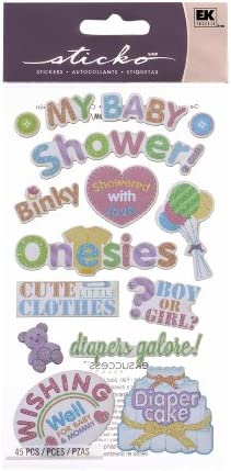 Buy Sticko My Baby Shower Stickers Online At Low Prices In India