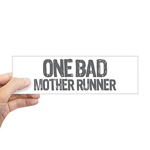 CafePress - One Bad Mother Runner - 10