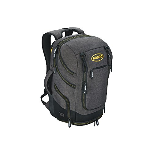 Wilson Sporting Goods A2000 Backpack, Charcoal
