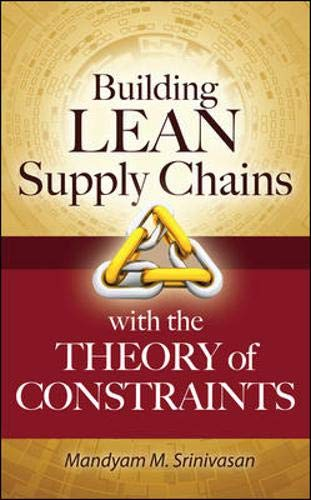 Building Lean Supply Chains with...