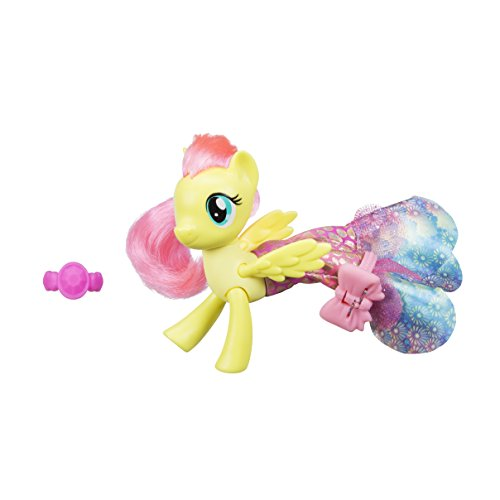 - My Little Pony C1827ES0 The Movie Fluttershy Land and Sea Fashion Styles Figure