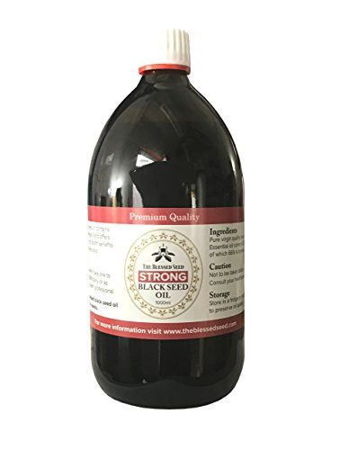 The Blessed Seed Strong Black Seed Oil 1000ml