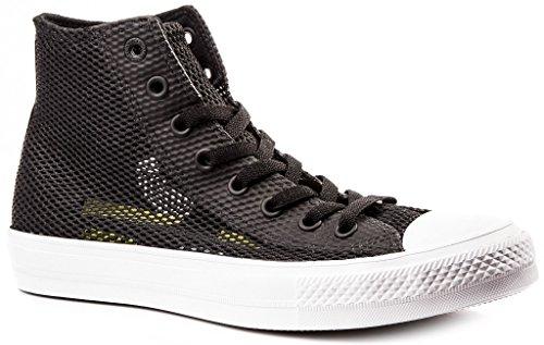 Converse Chuck II Open Knit Zapatos Hombre Sneaker Negro 42.5