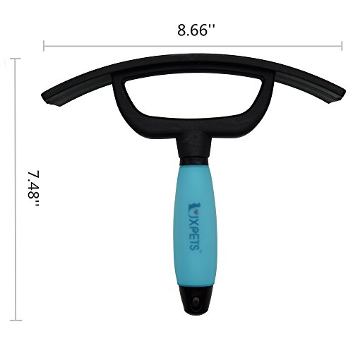 LUXPETS Horse Rubber Sweat Scraper with Soft Touch Gel Handle-Sturdy and Quality by LUXPETS (Image #3)