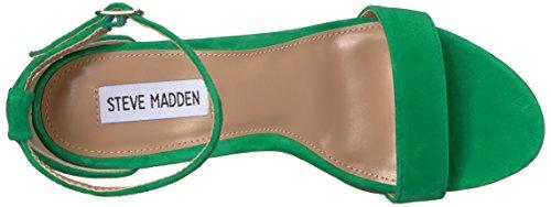con Carrson Steve Suede Madden Punta de Tacón para Zapatos Mujer Abierta Green r5qPXqwFx