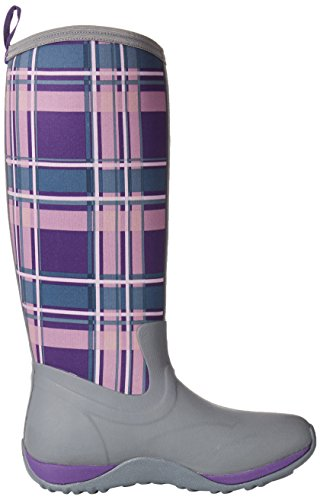 Women's Adventure Boot Boot Muck Purple Gray Plaid Acai Arctic w75t5S