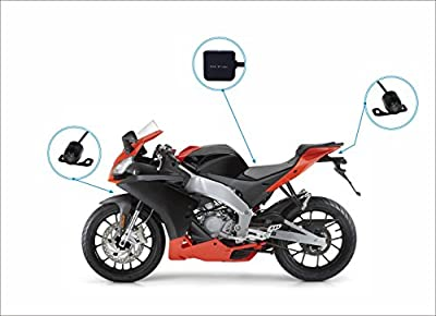 Biker-s-Camera--SYKIK-rider-SYBC6L-Motorcycle-Action-Camera--Sport-camera-and-DVR--Front-camera-and-back-camera--