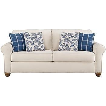 Amazon Com Benchcraft Adderbury Casual Upholstered Sofa