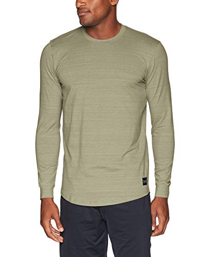 Under Armour Men's sportstyle Long sleeve Shirts, Moss Green (492)/Black, XX-Large