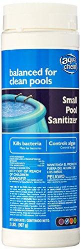 Aqua Chem Small Pool Sanitizer Chlorinating Granules for Swimming Pools, 2-Pound ()