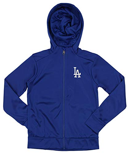 Outerstuff MLB Dodgers Boys 8-20 Performance Full Zip, used for sale  Delivered anywhere in USA