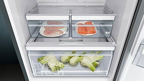 Siemens Kühlschrank Tür Umbauen : Siemens kg49nxx4a kühl gefrier kombination gefrierteil unten a