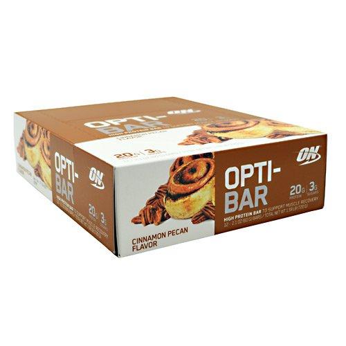 ON Opti-Bar - Cinnamon Pecan - 12 - 2.1 oz (60G) Bars by U-Nutra
