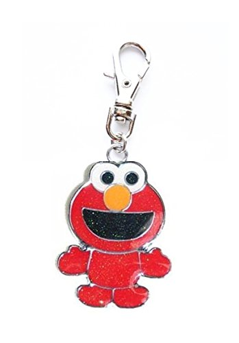 ELMO Sesame Street Jewelry Charm PET Collar Dog CAT Zipper Pull Purse Jacket Backpack -