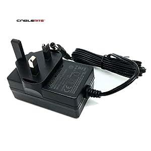 Akai APC40 controlador MIDI 12 V 3 pin adaptador de corriente con fuente de alimentación
