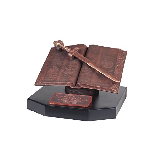 Lighthouse Christian Products Moments of Faith XL Word of God Sculpture, 12 x 12 x 8'' by Lighthouse Christian Products