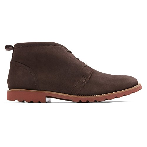 Chocolate Dark Boot Rockport Charson Bitter Men's Up Brick Chukka Lace wT8YTqB