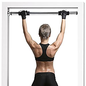 Door Gym Express Upper Body and Core Home Workout Bar by Crown Sporting Goods