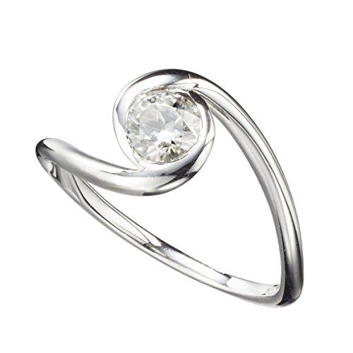 Moissanite engagement ring by Majade. Non diamond engagement ring,...