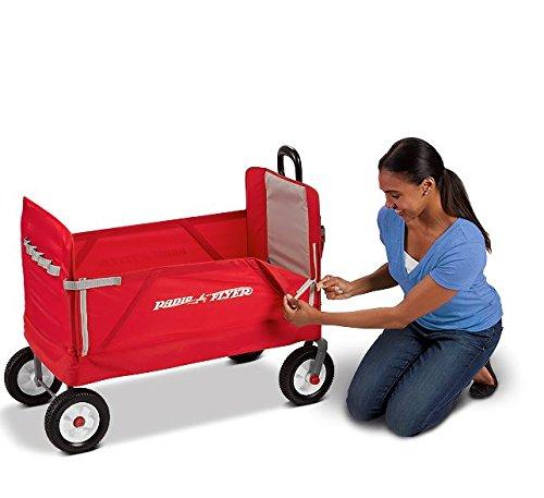 Radio Flyer All Terrain 3 In 1 Ez Folding Wagon For Kids