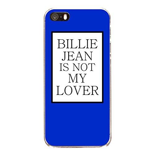 """Disagu Design Case Coque pour Apple iPhone SE Housse etui coque pochette """"BILLIE JEAN IS NOT MY LOVER"""""""