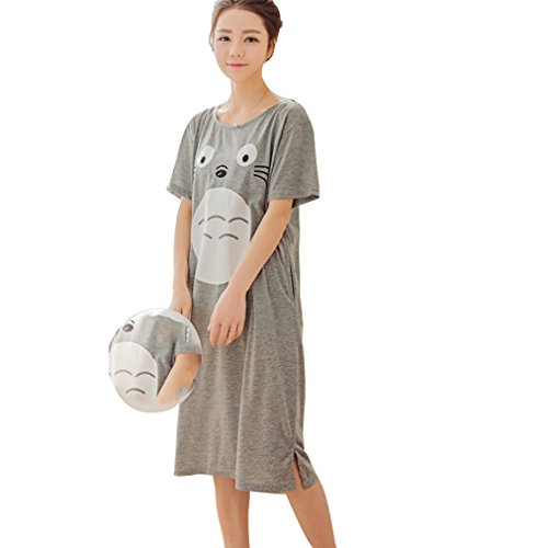 Totoro Short Sleeve Nightdress