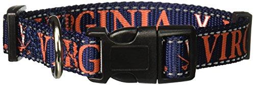 Pet Goods NCAA Virginia Cavaliers Dog Collar, Medium