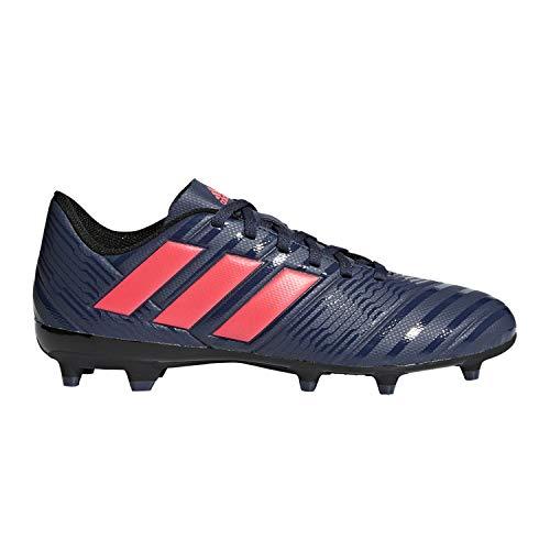 newest collection 31de6 46d86 adidas Women s Nemeziz 17.4 FG W Soccer Shoe, Trace Blue red Zest core  Black, 9.5 M US