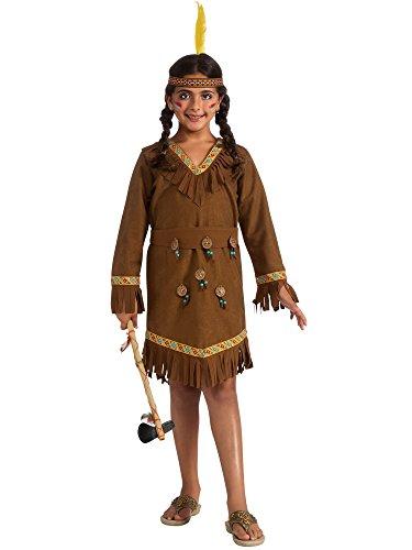 Drama Queens Native American Girl Costume, Medium -