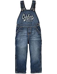 Boys' 2T-4T Denim Overalls