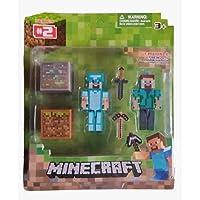 Cartela Boneco Minecraft Personagens + Acessorios