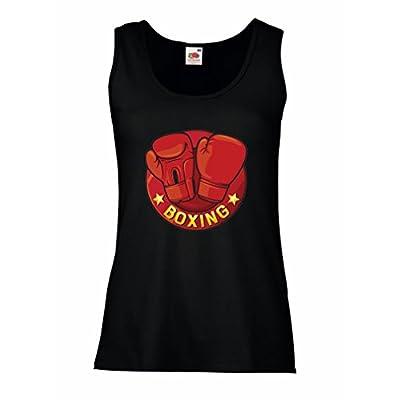 lepni.me Womens Tank Tops Boxing - MMA, Kickboxing, Box Gloves