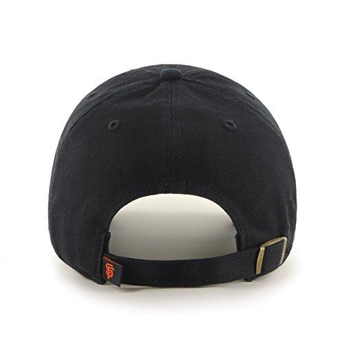 Gorra Giants Clean Francisco Unisex adulto negro Brand '47 MLB de San béisbol Up wXqnT10
