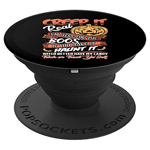 Funny Halloween Mashup Creep Boos Haunt It Witch Trick Treat - PopSockets Grip and Stand for Phones and -