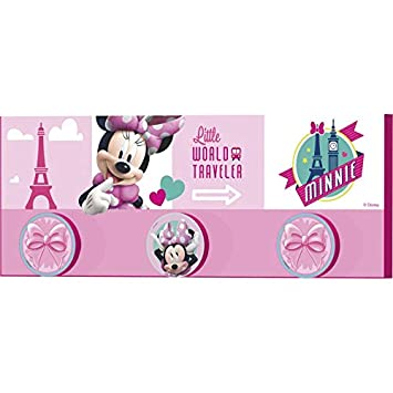 Stor - Perchero Infantil Charm | MINNIE MOUSE JETSET ...