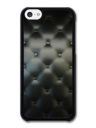 Chesterfield Style Black Leather Effect in a Cool Style case for iPhone 5C