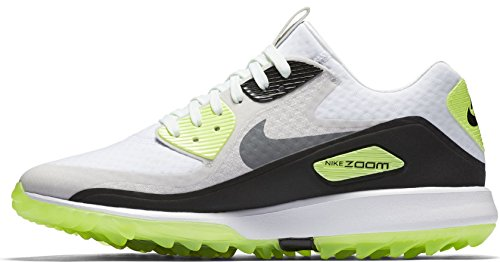 - Nike Air Zoom 90 IT Spikeless Golf Shoes 2017 White/Cool Gray/Neutral Gray/Black Medium 7.5