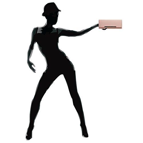 Pour Rose De Caspar Soirée Main À Pochette Ta346 Sac Élégante Femme Paillettes xFq06FwPH