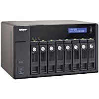 QNAP TVS-871-i5-8G-US 8Bay Core i5-4590S 8GB DDR3 SATA 6Gb/s 10GbE PCI-Express Network Attachment Storage