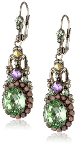 Sorrelli-Double-Loop-Crystal-Stardust-Drop-Earrings