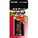 maxell アルカリ乾電池 ボルテージ 角型9V 1本 ブリスターパック 6LF22(T) 1B