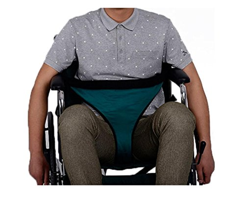 WE&ZHE Wheelchair Restraint Belt Fixed Band, Seat Belt Mesh And Cushion Non-Slip Practical - Long-Term Bedridden Elderly Or Unconscious Patient , 2# by WE&ZHE