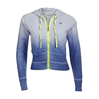 Zumba Fitness Eclipse Jacket (Small, Surf Blue)