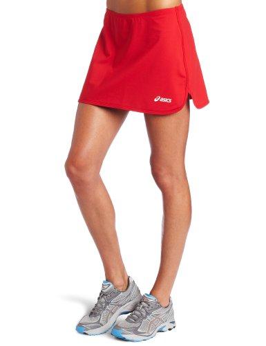 - ASICS Women's Field Skirt, Red, Small