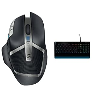 Logitech G602 Wireless Gaming Mouse (910-003820) + Logitech G213 Prodigy Gaming Keyboard (920-008083) Bundle (B071H1CTTB) | Amazon price tracker / tracking, Amazon price history charts, Amazon price watches, Amazon price drop alerts