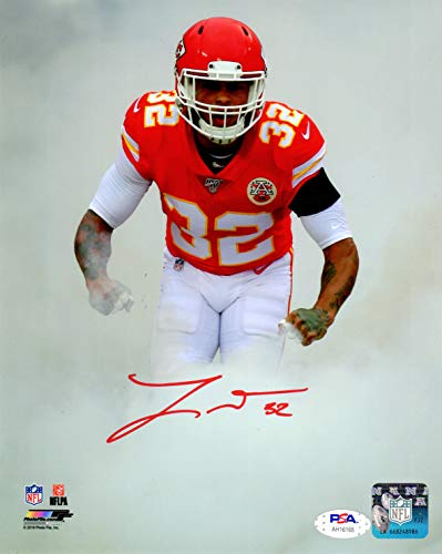 Tyrann Mathieu autographed signed 8x10 photo NFL Kansas City Chiefs PSA COA