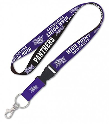 High Point Panthers Lanyard with Detachable Buckle, 1'' by WinCraft