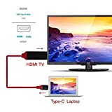 Dylawell USB Type-C to HDMI Male Cable for Macbook